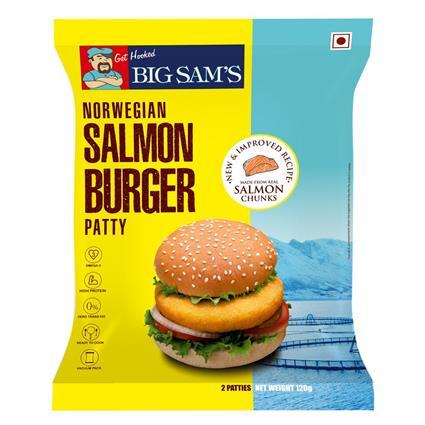 BIG SAM's NORWEGIAN SALMON BURGER PATTY
