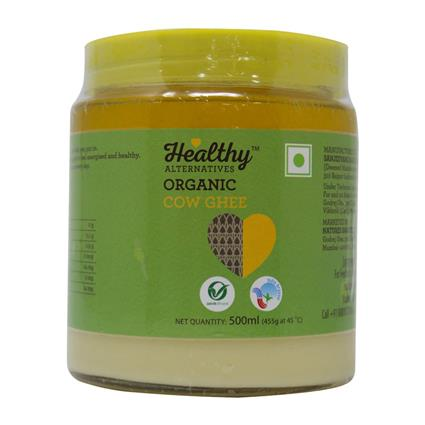 ORGANIC GHEE - Healthy Alternatives