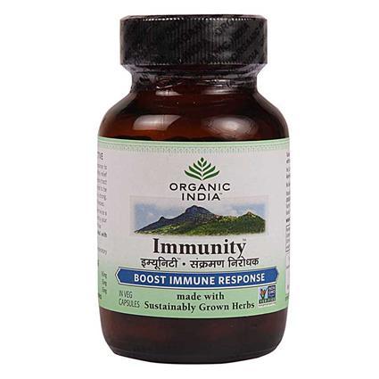 Immunity Capsules - Organic India