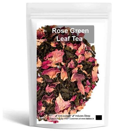 ROSE GREEN LEAF TEA - FABBOX