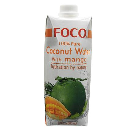 Pure Coconut Water W/ Mango - Foco