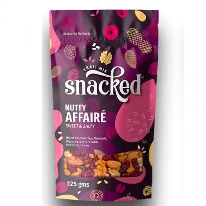 FLAVOURED NUTS - Snacked
