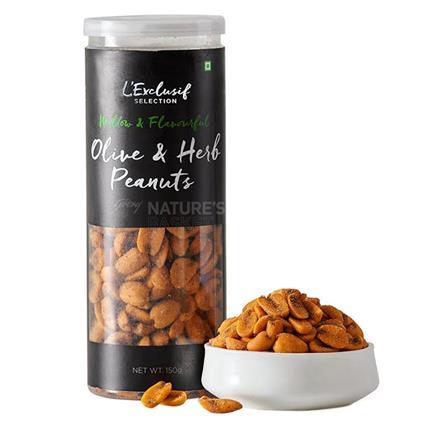 Peanuts - Olive N Herb Flavour - L'exclusif