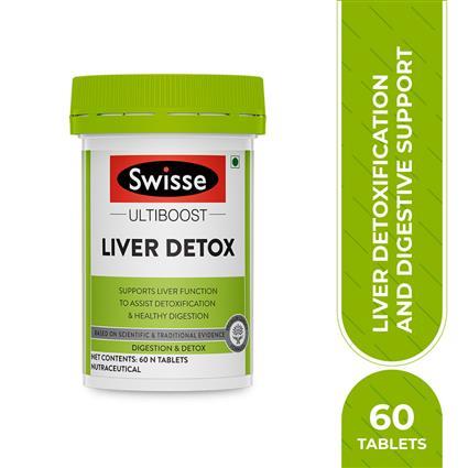 SWISSE LIVER DETOX CLEANSING 60 TAB
