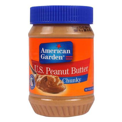 Peanut Butter  -  Chunky - American Garden