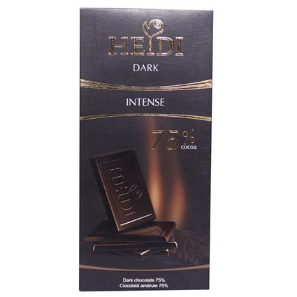 Intense Dark Chocolate  -  75% - Heidi