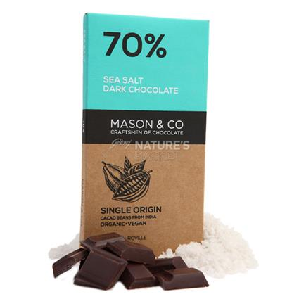 Sea Salt Dark Chocolate - Mason