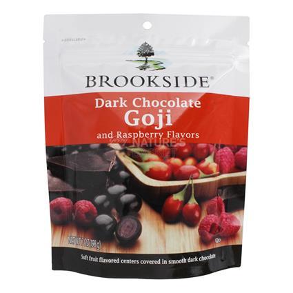 Dark Chocolate  -  Goji & Raspberry - Brookside
