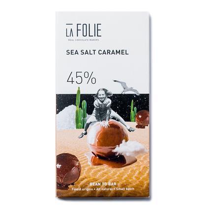 LA FOLIE SEA SALT CARAMEL 45 PEC 60GM