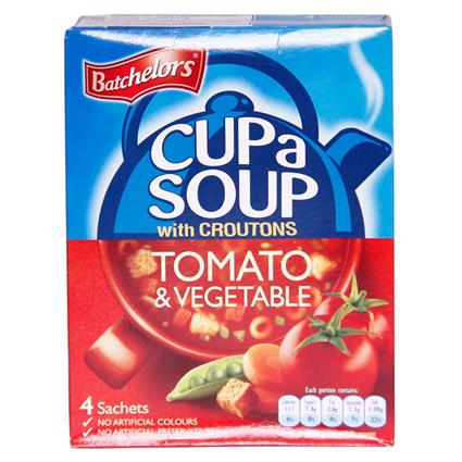 BATCHELORS CUP SOUP TOMATO CROUTONS 104G
