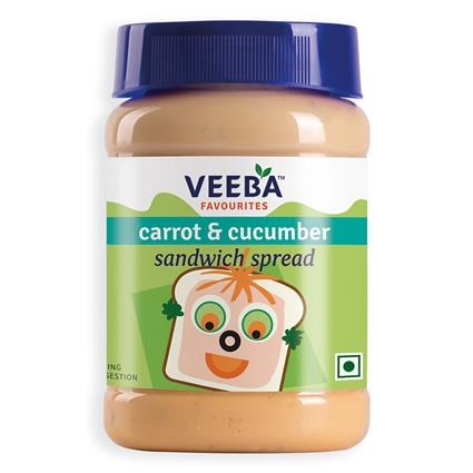Carrot & Cucumber Sandwich Spread - Veeba
