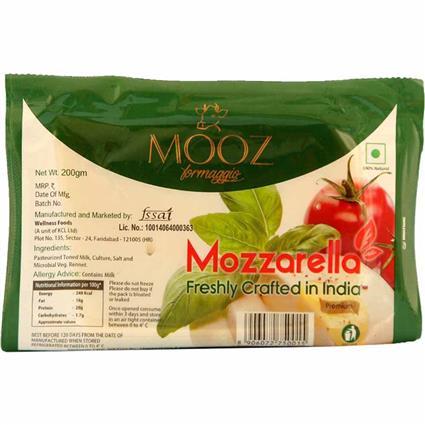 MOOZ MOZZARELLA CHEESE 200g