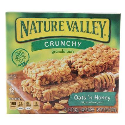 Crunchy Granola Bars - Honey & Oats - Nature Valley