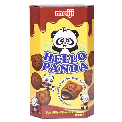 HELLO PANDA BISCUIT DOUBLE CHOCOLATE 50g