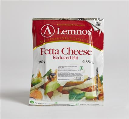 LEMONS REDUCED FAT FETTA CHEESE 180G