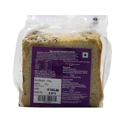 NATURES MULTIGRAIN SANDWICH BREAD 150G