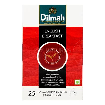 DILMAH ENGLISH BREAKFAST TEA PACK 25Pc