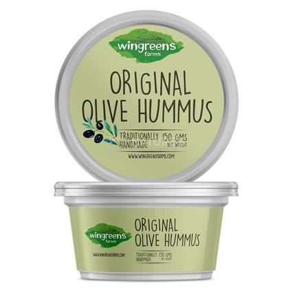 WINGREENS ORIGINAL OLIVE HUMMUS 150G