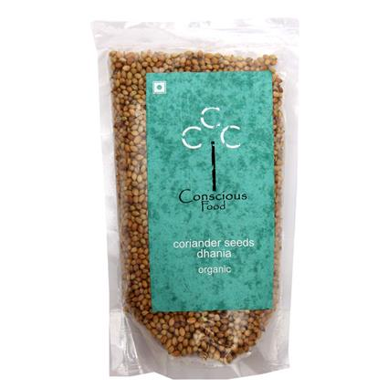 Coriander/ Dhania Whole  - Organic - Conscious Food