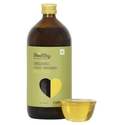 Organic Cold Pressed Sesame Oil - Healthy Alternatives