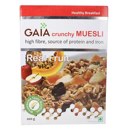 Crunchy Muesli  -  Real Fruit - Gaia