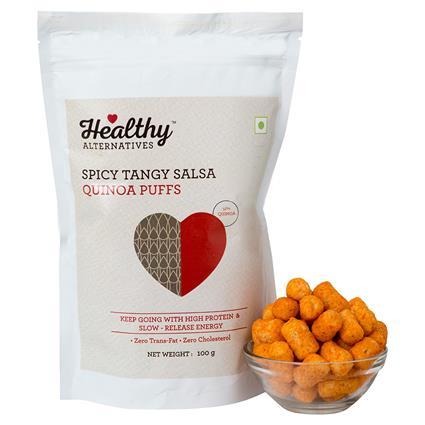 Spicy Tangy Salsa Quinoa Puff - Healthy Alternatives
