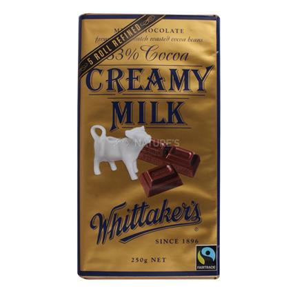 Creamy Milk Chocolate  -  33% Cocoa - Whittakers