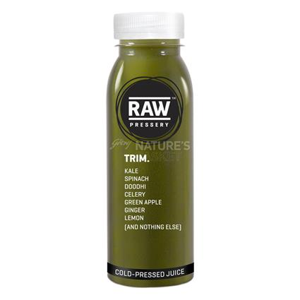 Cold Pressed Juice  -  Trim - Raw Pressery