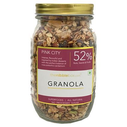 Pink City Breakfast Granola - Thenibblebox