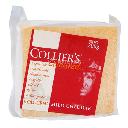 Mild Coloured Cheddar Cheese - Collier's
