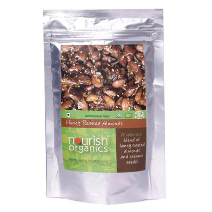 Honey Roasted Almond - Nourish Organics