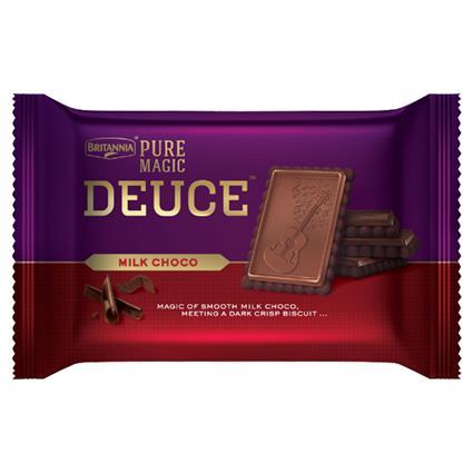 Pure Magic Deuce Milk Choco Biscuit - Britannia