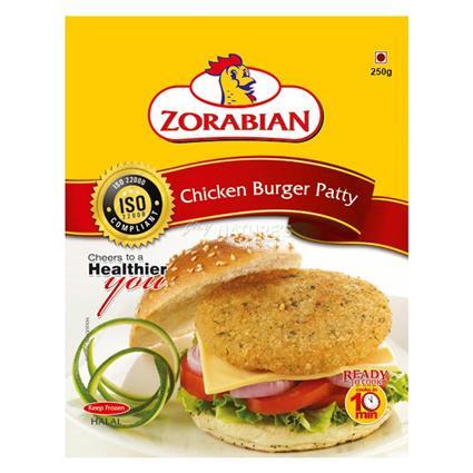 ZORABIAN CHICKEN BURGER PATTY 250G