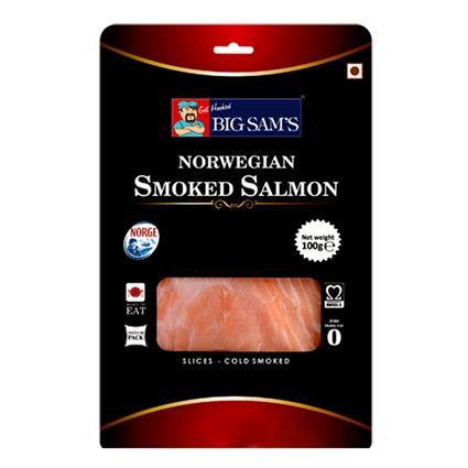 BIG SAMS SMOKED SALMON SLICE 100g