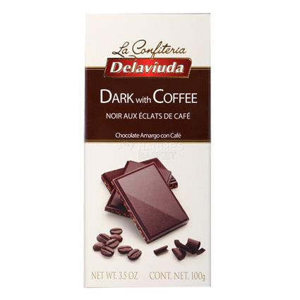 Dark Chocolate W/ Coffee - Delaviuda