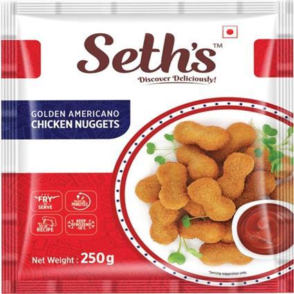 SETH GOLDEN AMERIC CHICKEN NUGGETS 250GM