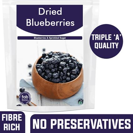 FABBOX DRIED BLUEBERRIES 100G