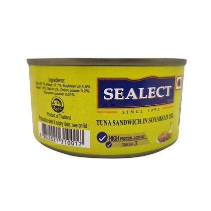 SEALECT TUNA SANDWITCH SOYBEAN OIL 185G