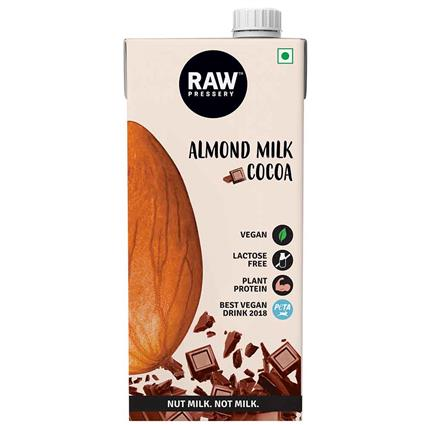 RAW PRESSERY CACAO ALMOND MILK 1 LTR