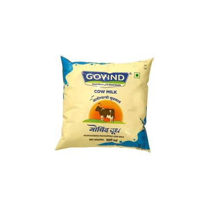 GOVIND MILK COW POUCH 500ML