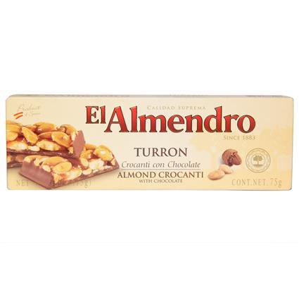Choco Almond Crocanti Turron - El Almendro