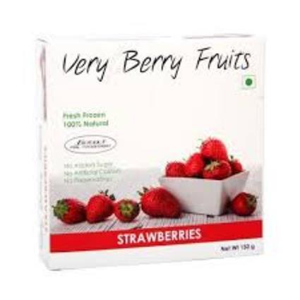 VERY BERRY FRUITS STRAWBERRIES 150G
