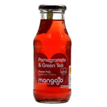 Pomegranate & Green Tea Ice Tea - Mangajo