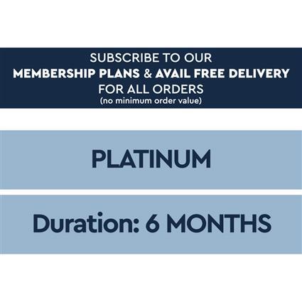 6 Month Platinum Plan