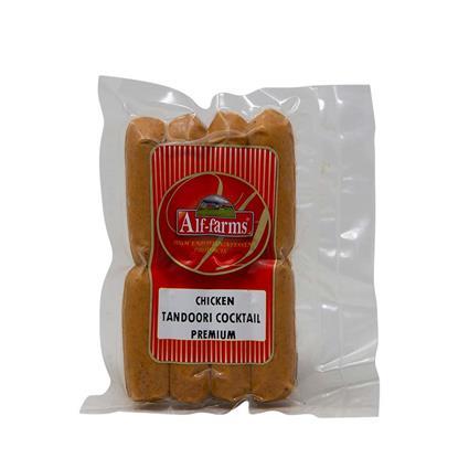 ALF FARMS CHICKEN TANDOORI SAUSAGES 150
