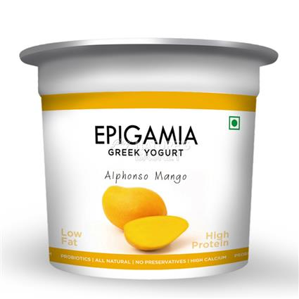 Alphonso Mango Greek Yoghurt - EPIGAMIA