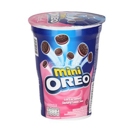 Mini Cup Strawberry Flavoured - Oreo