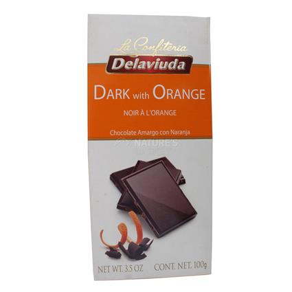 Dark Chocolate W/ Orange - Delaviuda