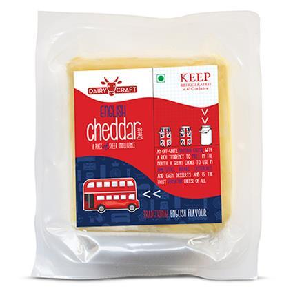 English Cheddar Cheese - Dairy Craft