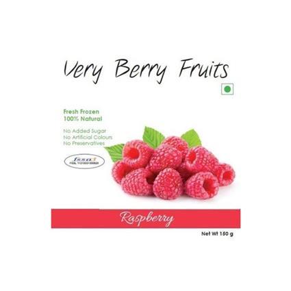 VERY BERRY FRUITS FROZEN RASPBERRY 150G